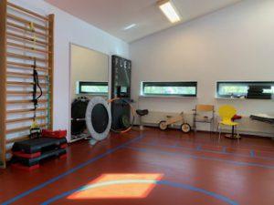 Foto oefenzaal Winsum Fysiotherapie de Marne