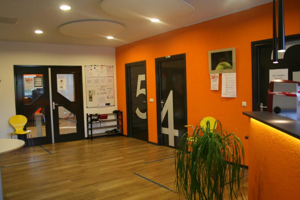 Wachtruimte Fysiotherapie de Marne Vestiging Wehe- den Hoorn