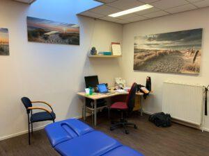 Behandelruimte foto 3 locatie Sauwerd Fysiotherapie de Marne