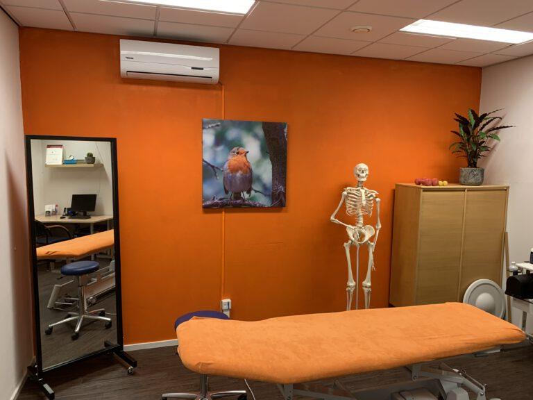 Behandelkamer locatie Sauwerd Fysiotherapie de Marne