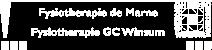 Fysiotherapie de Marne Logo Wit